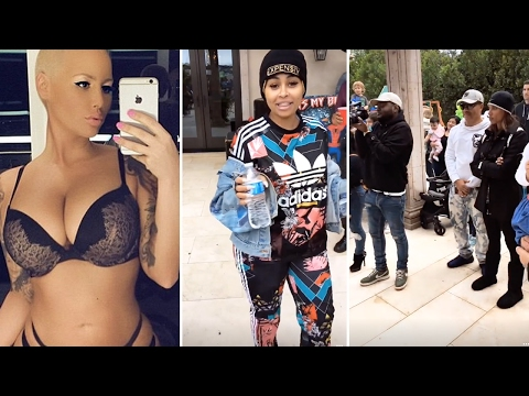Amber Rose Throws PARTY With Blac Chyna | Full Video