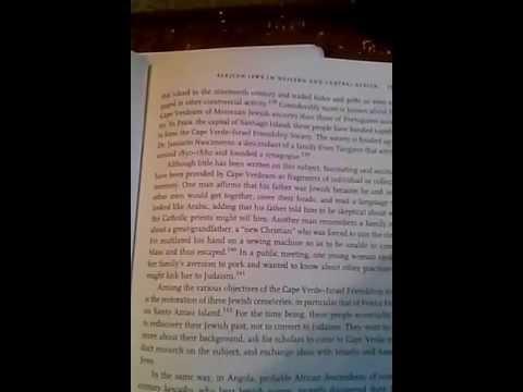 Rastafari Reading 1- The Black Jews of Africa Pt.3 (cont): Tutsi Hebrews & Cape Verde Jews