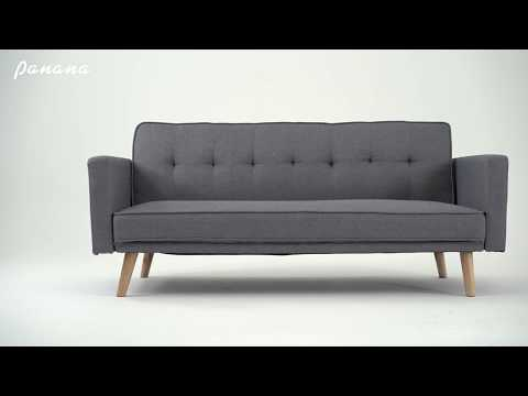 Best Grey Click Clack Sofa Bed In 2019:3 Seater Sofa Bed Or Sofa