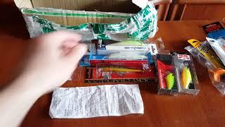 Unboxing посылки с воблерами специально по заказу Fmagazin