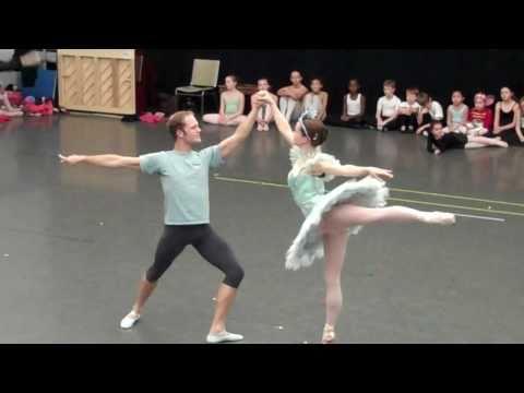 Snow Queen And King Rehearsal -- Nashville Ballet