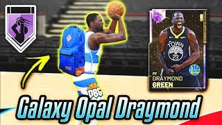 GALAXY OPAL DRAYMOND GREEN GETS THE HOF LIMITLESS RANGE BADGE FROM HIS BACKPACK!! | NBA 2K19 MyTEAM