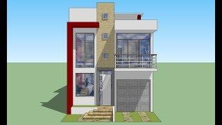 Casa de 6.5x15.5mts de terreno