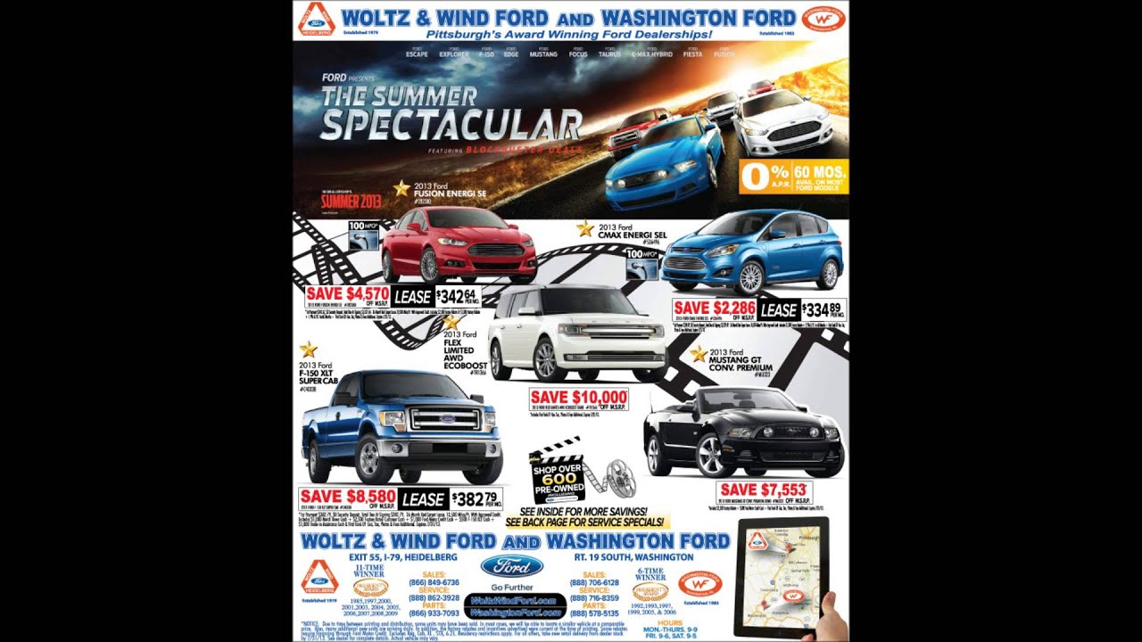 Woltz & Wind Ford Presents The Summer Spectacular | woltz and wind ford