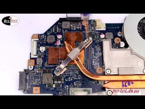 Как разобрать ноутбук Acer ASPIRE 5755G.Перегревается ноутбук.Сервисный центр Макеевка.