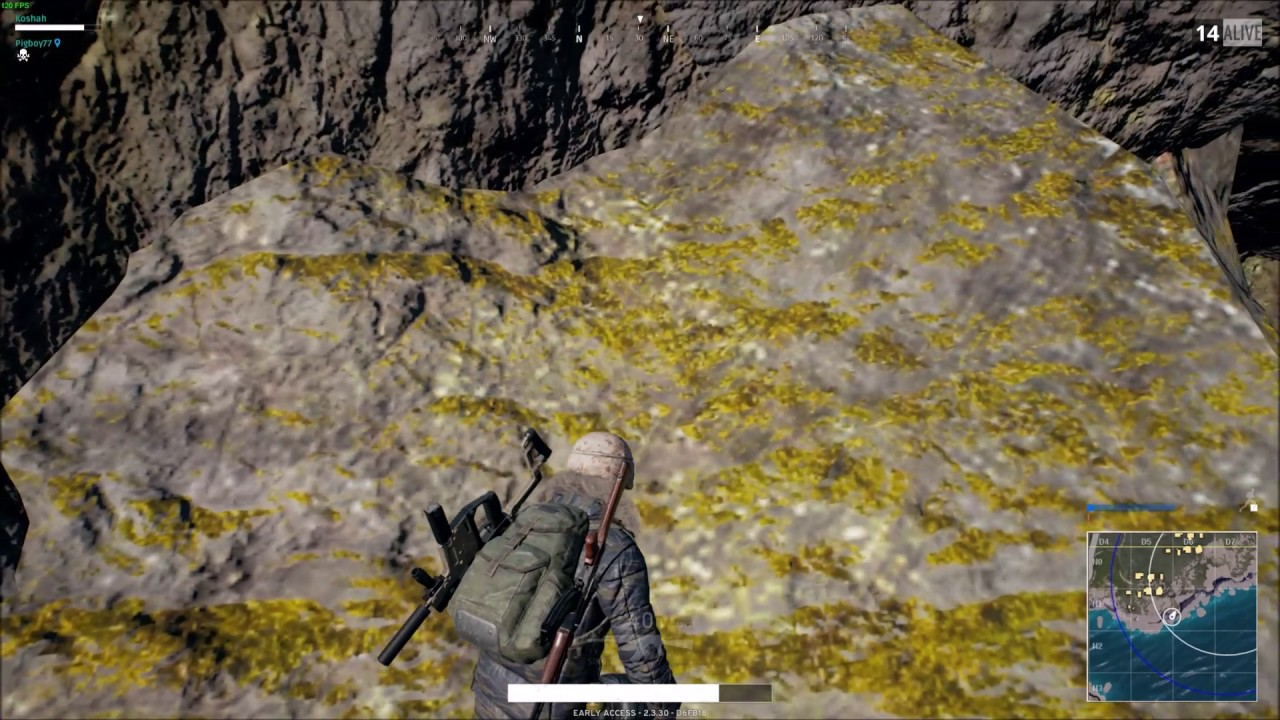 how to change grenade in pubg