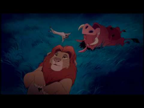 Simba, Timon, Pumba e le stelle - YouTube