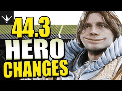 PATCH 44.3 ► JEDER Held wird verändert! RIESEN Patch! • GameaholixTV  •  Paragon