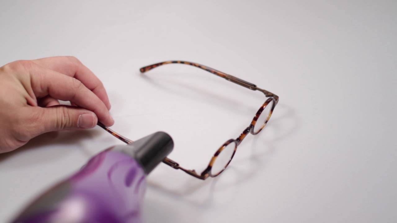 How To Fix Crooked Eyeglasses At Home - YouTube