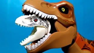 Lego Dinosaurs Jurassic World Toys Indominus Rex vs T-Rex