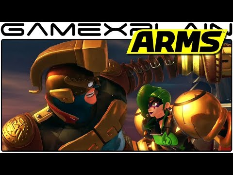 ARMS - NEW Dr. Coyle Boss Fight in the Grand Prix Grand Finale