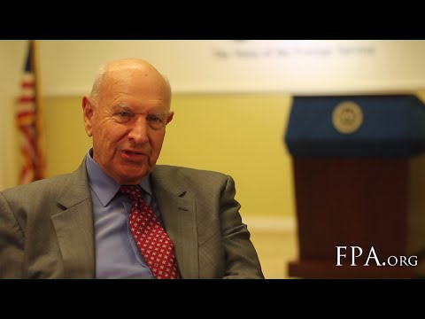Thomas Pickering - Four Decades in the Foreign Service