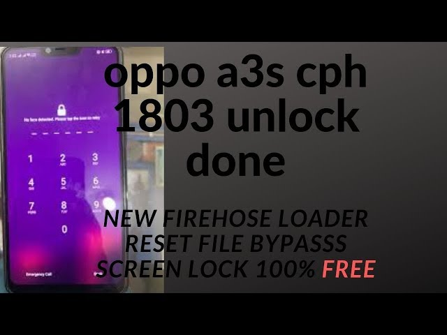 Oppo A3s Flash Tool Id Password