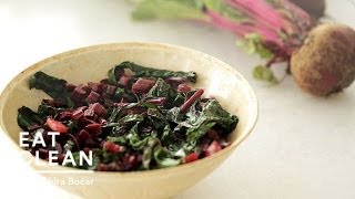Sauteed Beet Greens With Coconut Oil And Ginger - Eat Clean With Shira Bocar