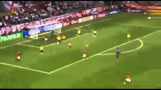 joe cole amazing volley against sweden