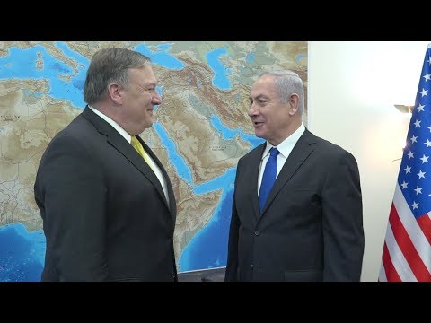 Secretary of State Pompeo Meets Israel's Netanyahu