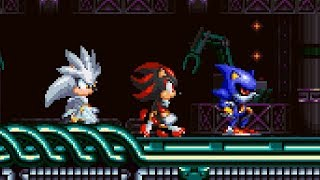 Shadow And Silver | Sonic Mania PLUS Mods ⮚ Gameplay