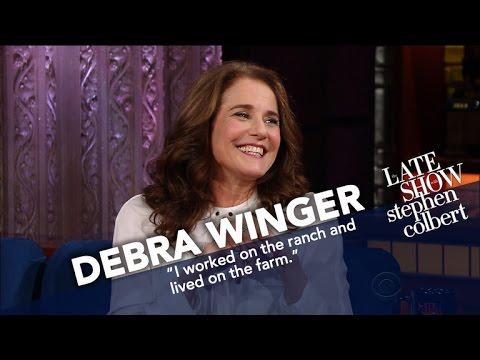 Debra Winger Is Obsessed With Catholic Saints