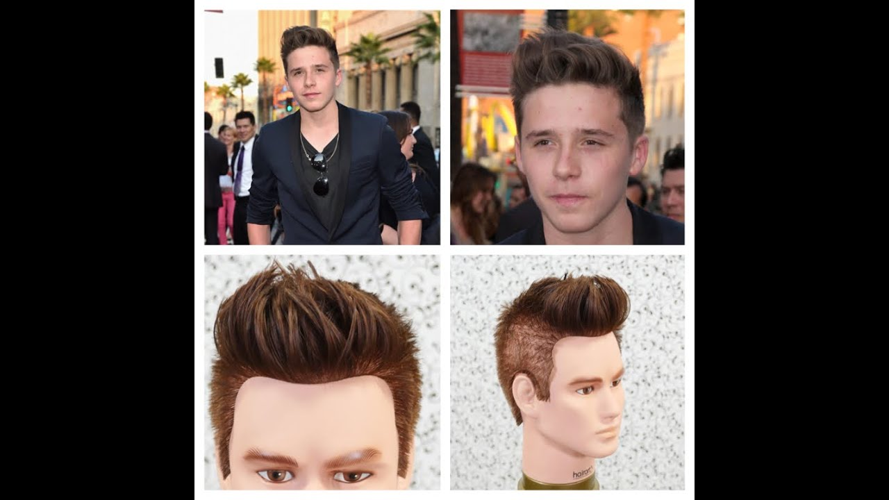 Brooklyn Beckham Haircut Tutorial Thesalonguy Youtube