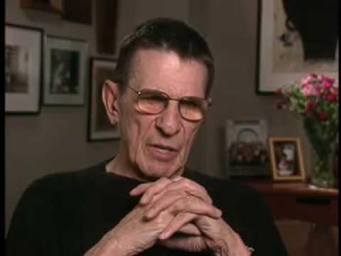 Leonard Nimoy - Archive Interview Part 7 Of 8 TVLEGENDS