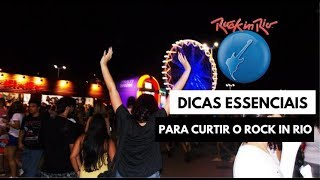 PREPARE-SE PARA O ROCK IN RIO - DICAS VALIOSAS PARA NÃO PASSAR PERRENGUE