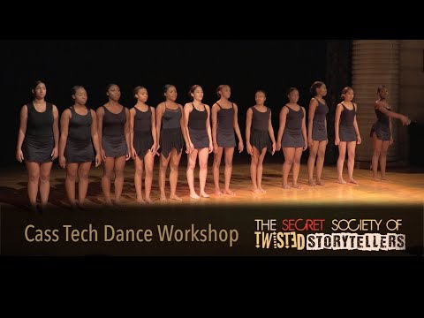 "The Secret Society Of Twisted Storytellers - ""SOUL FOOD!"" Cass Tech Dance Workshop"