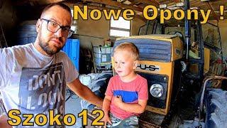 Wymiana opon Ursus 1014 & Bartuś nauczył jeździć się na rowerku [Vlog#143] Musisz to Zobaczyć !