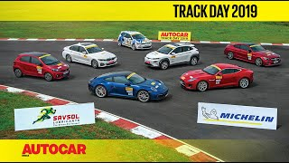 India's Best Driver's Cars 2019 - Track Day with Narain Karthikeyan | Autocar India