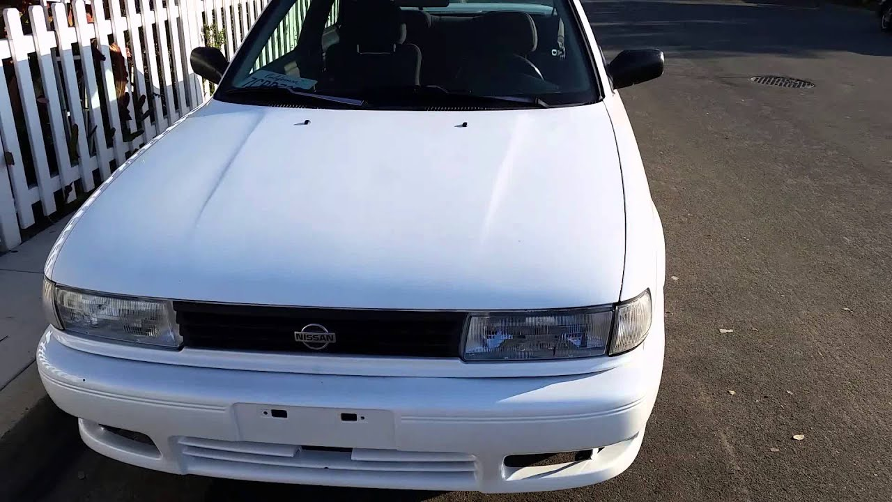 1992 Nissan Sentra SE-R for sale - YouTube