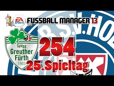 Fussball manager lets play 254 spvgg greuther f�rth  25 spieltag  fm lp 2014 karriere