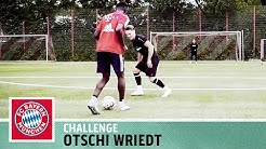 1-vs-1-Challenge vs. Lewandowskis Back-Up Otschi Wriedt | FC Bayern München | Kickbox