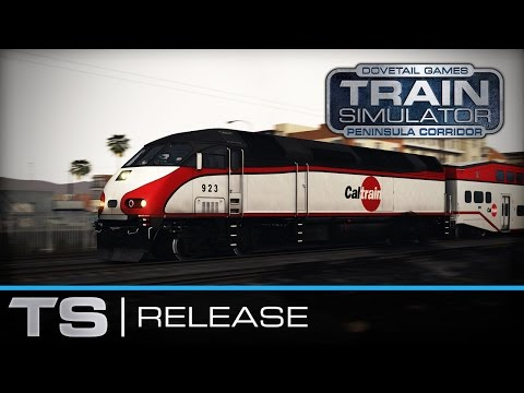 Train Simulator: Peninsula Corridor - San Francisco - San José