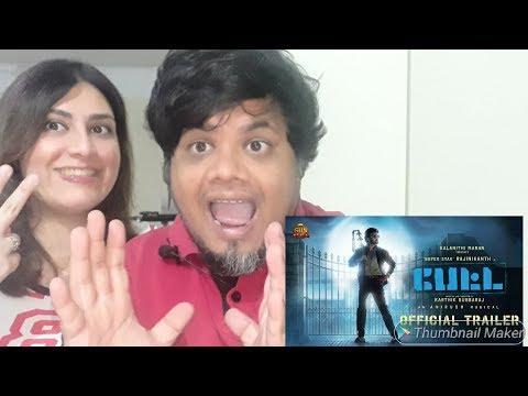 #RajiniKanth #Petta - Official Trailer Reaction|Foreigner reaction|North Indian reaction|