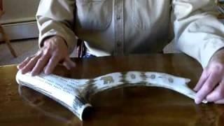 Elk Antler Cribbage Board.wmv
