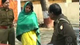 Indian cop beats woman of lower caste