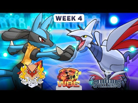 Pokemon Sun & Moon WiFi Battle • Bristol City Blazikens vs Detroit Steel Wings • WBE W4S1