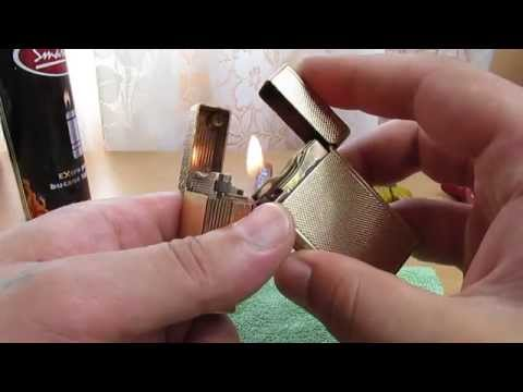 How to fix/service/repair gas leak on S. T. Dupont Ligne/Line 1 BS lighters(seals-replacement)