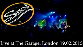 Snot - Live at The Garage, London 19.02.2015