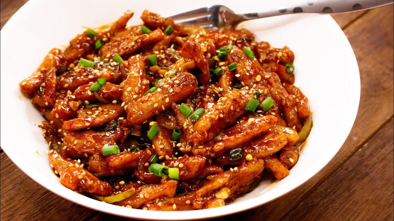 Image result for Honey Chilli Potatoes