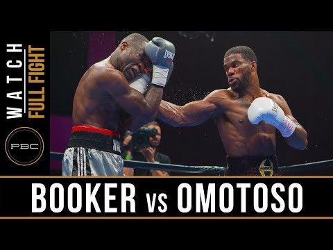 Booker vs Omotoso