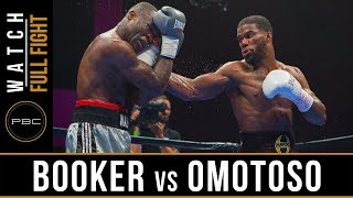 Booker vs Omotoso FULL FIGHT: May 25, 2019 - PBC on FS1