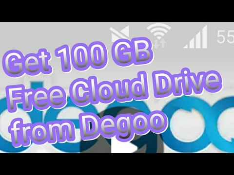 100 gb free to save and store files with degoo cloud drive youtube