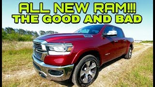 2019 RAM Laramie 4x4! Best full review available! Part 2