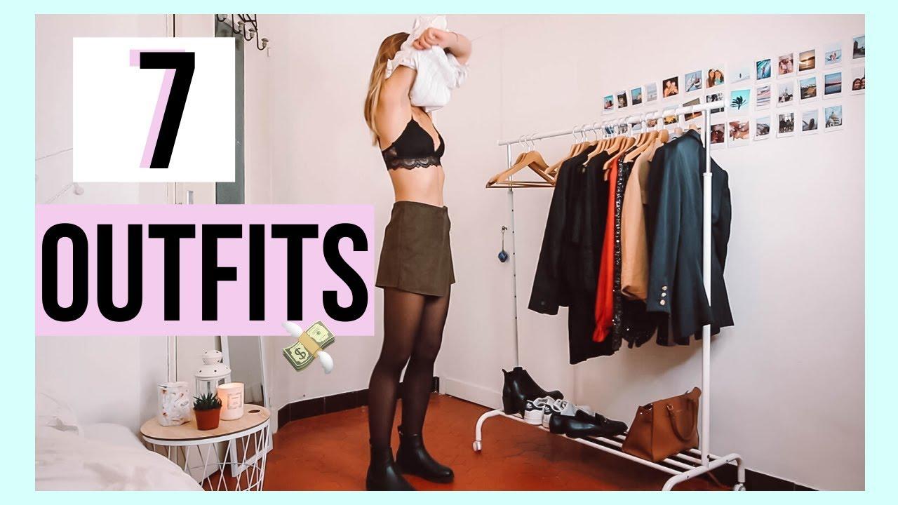 [VIDEO] - 7 WINTER OUTFITS | pour les cours! :) 1