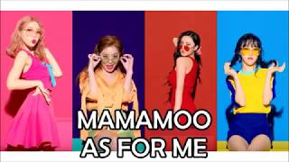MAMAMOO - Yes I Am / As For Me (english translation)