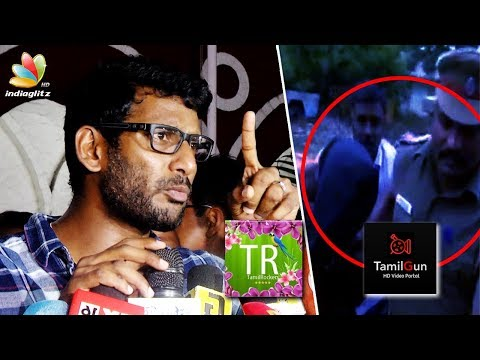 ARRESTED! Tamil Rockers Admin in police custody | Vishal Speech on Piracy Website