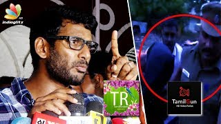 SHOCKING! Tamil Rockers Admin in police custody | Vishal Speech on Piracy Website