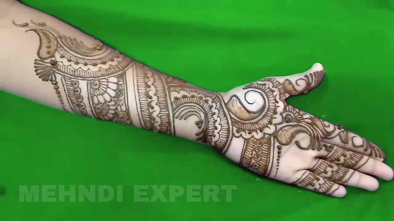 Modern Style Full Hand Mehndi Design 2016