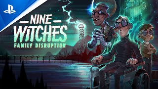 Nine Witches: Family Disruption - A Love Letter to Adventure Games - Launch Trailer | PS4