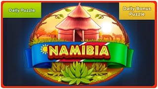 4 Pics 1 Word - Namibia - June 2019 - Daily Puzzle + Daily Bonus Puzzle - Answer - Walkthrough